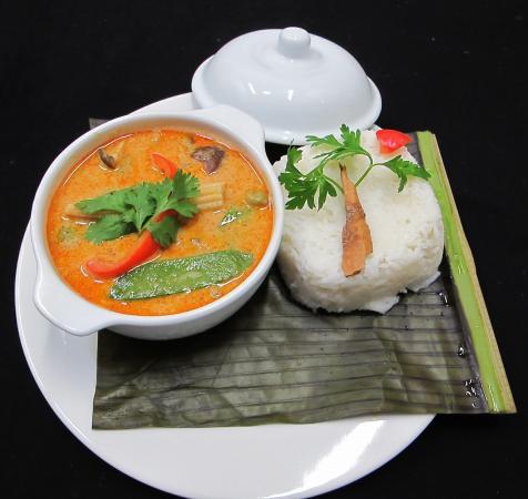 Ave Del Paraiso: Kaeng Phet - (Red Thai Curry - Curry Tailandés rojo)