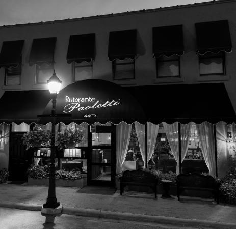 Ristorante Paoletti: Paoletti entrance on Main Street