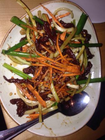 P.F. Chang's: Beef Sichuan (sp?)