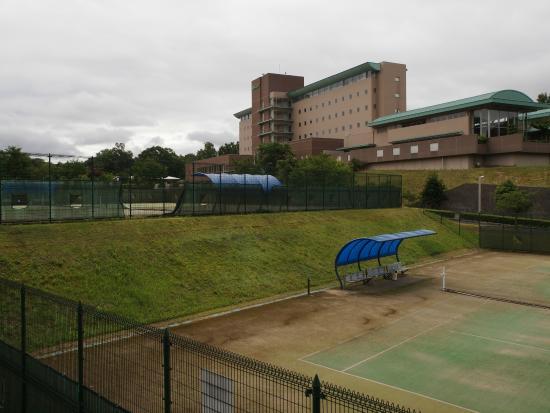 Kanpo no Sato Shobara : スポーツ施設もあります。
