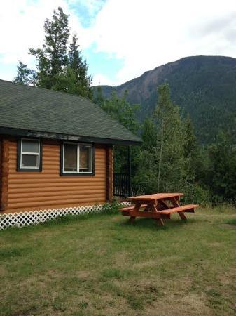 Revelstoke Campground: cabin #2