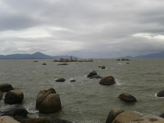 Piçarras, SC: Bom descanso e muito vento