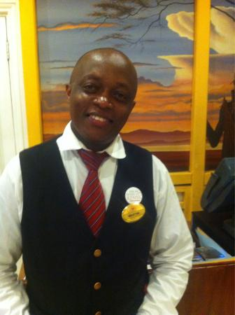 Thorn Tree Cafe : Mr. Martin Kimile - Supervisor - very charming, helpful and Exellent at service !