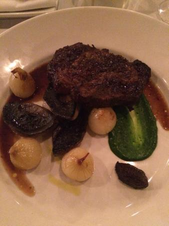 Provenir: Angus steak & Smoked cinnamon duck