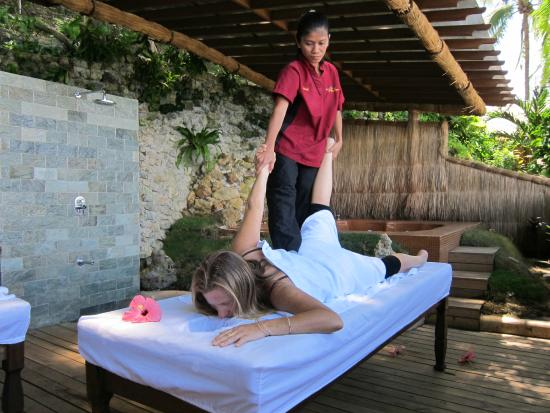 El Galleon Beach Resort & Hotel: Spa massage