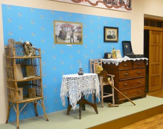 Laishevo, Russia: Одна из экспозиций Музея Лаишевского края
