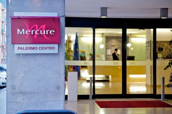 Mercure Palermo Centro : ingresso