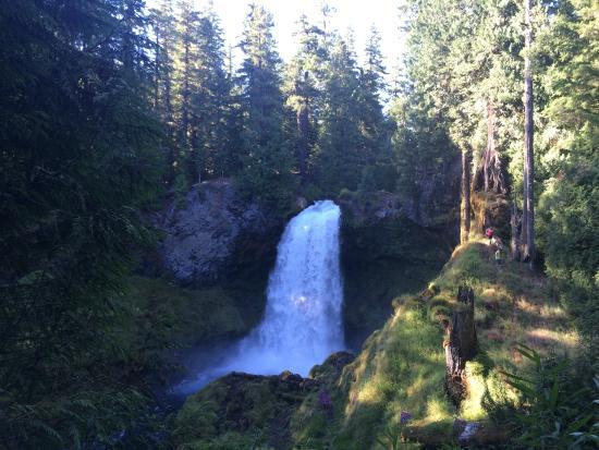 Sisters, Oregón: Sahalie Falls
