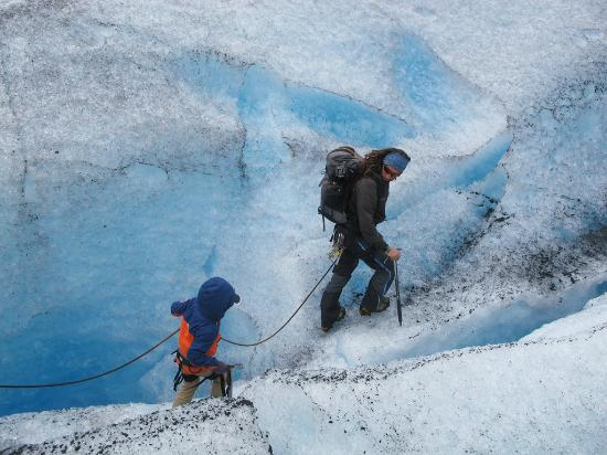 Ice Troll Glacier Hiking & Kayaking Day Tours: the nice guide to our kid