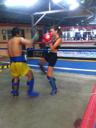 Suwit Muay Thai Training Camp & Gym: Abbie from England