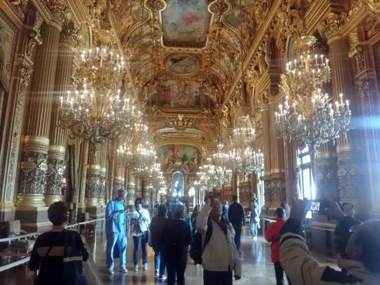 Paris, France: The Hall of Chandeliers
