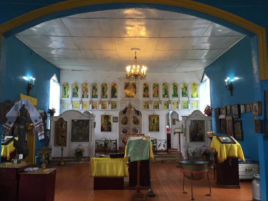 Sokury, Russia: Покровская церковь