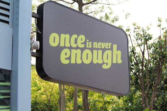 Sentosa Island, Singapore: Once is not enough