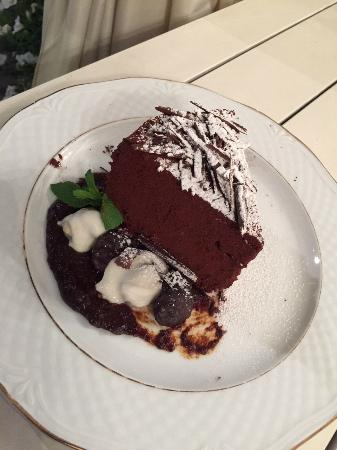 Chocolate Cake - enough to share!