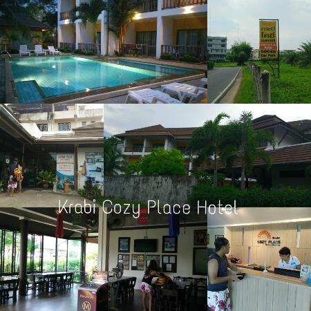 Krabi Cozy Place Hotel: ด้านนอก และในโรงแรม