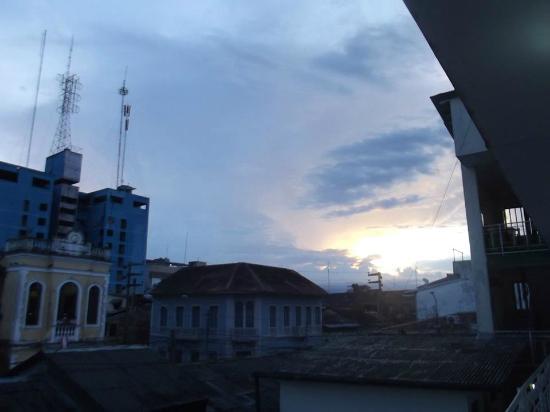 Hostal El Colibri: Vista desde el ultimo piso
