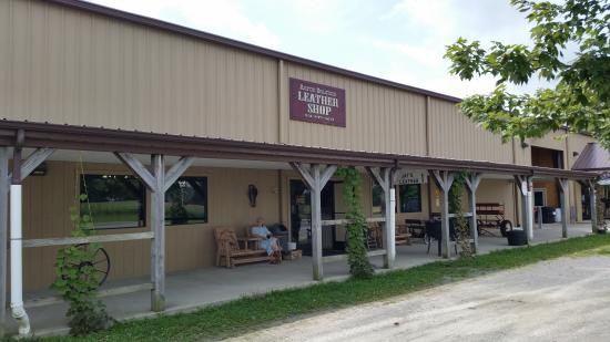 Monterey, TN: the leather shop