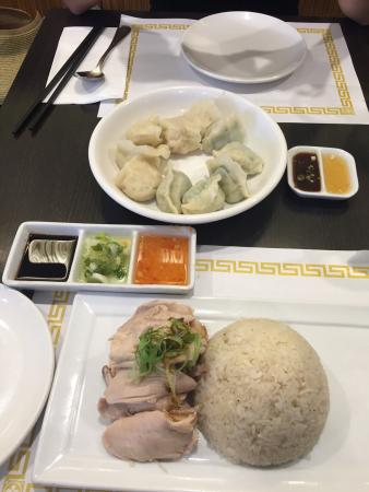The Green Zone: Fresh organic produce available here. Hainan chicken and beef curry were excellent... So were th