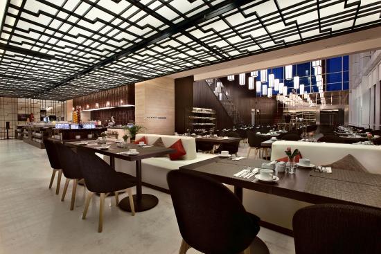 coffee shop picture of aston priority simatupang hotel rh tripadvisor co uk