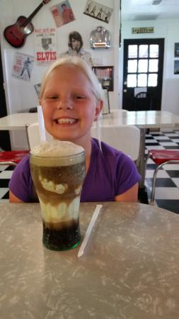 Rock-A-Billy : My daughter and her root beer float