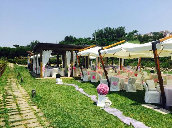 Ristorante giardini di kyme foto di ristorante giardini di kyme