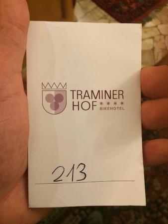 Hotel Traminer Hof: stanza