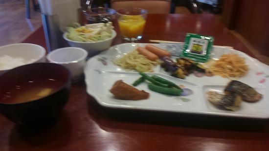 Hotel Ascent Hamamatsu: 微妙な朝食