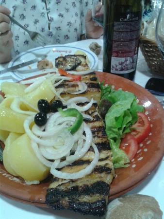 Valenca, Portugal: Bacalao