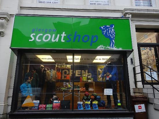 The Glasgow Scout Shop