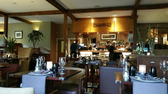 Brambles Seafood + Grill: Lovely  food relaxing atmosphere