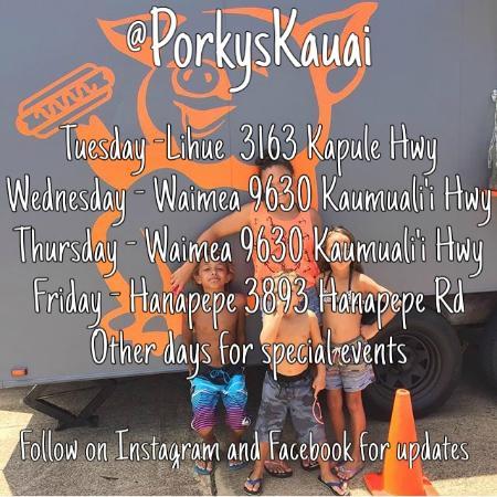 Porkys Kauai Waimea Restaurant Reviews Phone Number Photos