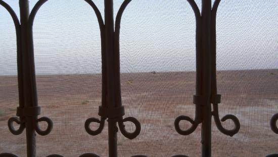 Auberge Merzane : vue de la chambre