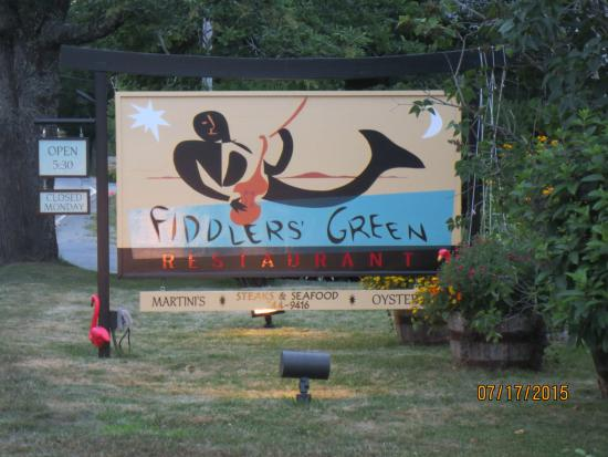 Fiddlers' Green : sign