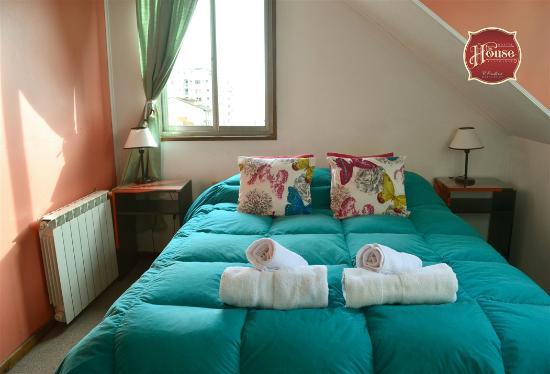 The House Hostel, Resto & Bar : Habitación Doble