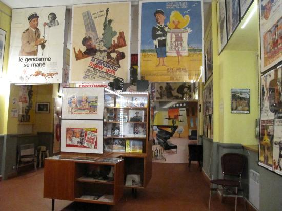 Le Cellier, France: Salle 2, les années 60