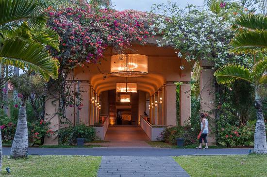 Mauricia Beachcomber Resort & Spa: l'entrée