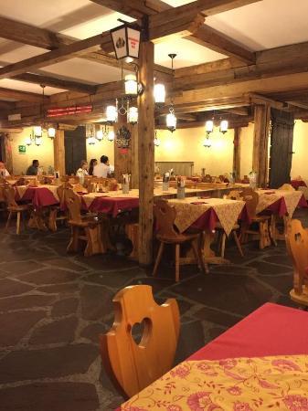 Te Cevena: Sala pranzo 2
