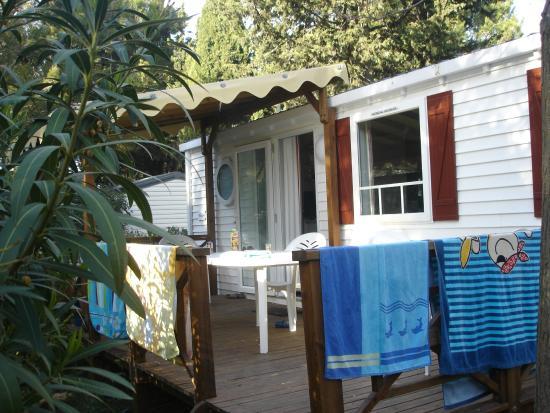 Domaine Les Vignes D'or: mobile home
