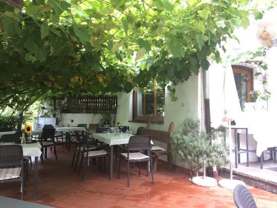 Restaurant Waldinger: Garten