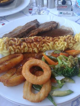 The Brothers Restaurant & Bar: One off the lovely meals