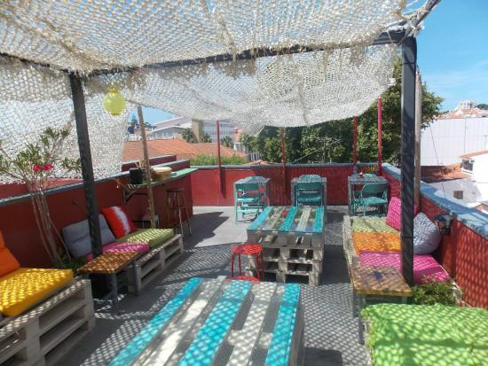 foto de cafe galeria house of wonders cascais rooftop tripadvisor. Black Bedroom Furniture Sets. Home Design Ideas