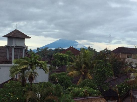 Goutama Homestay: View from the top on the volcano