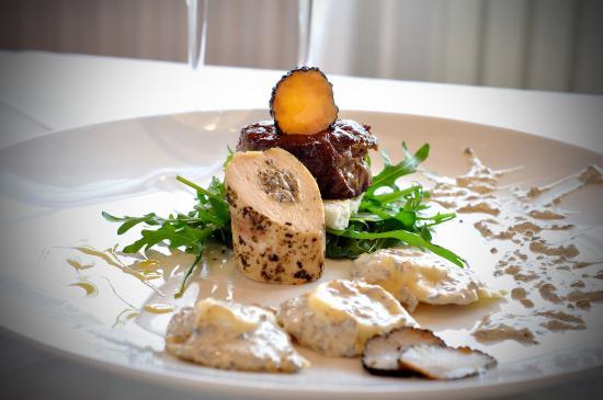 Hotel Fontana: Truffle dish