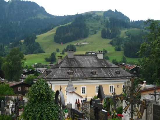 Hotel Edelweiss: Veiw from our balcony