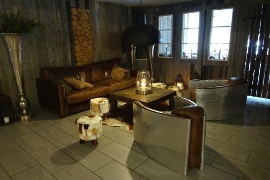 Hotel Laponia: lobby