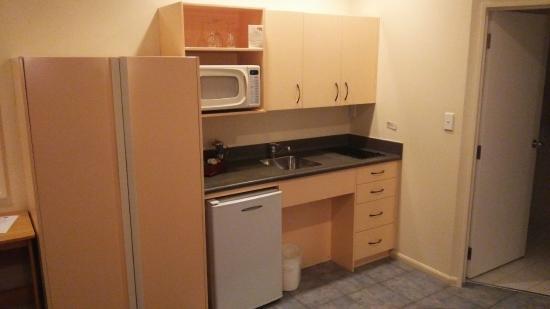 Te Mata Lodge: キッチンです。