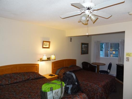 Rivermount Motel: Chambre