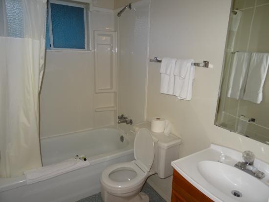 Rivermount Motel: Salle de bain