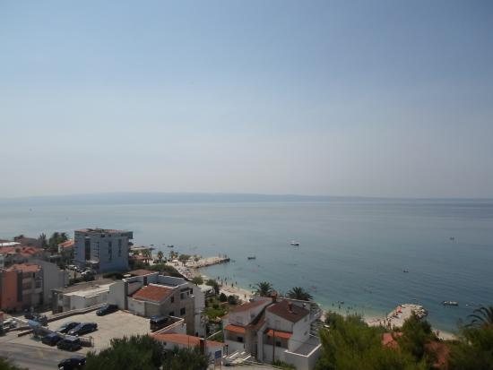 Aparthotel Stipe: The view from our balcony