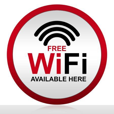 Grand Hotel Gallia Londres: Free wifi.Hotel Gallia Londres-Lourdes